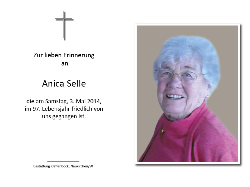 Anica  Selle