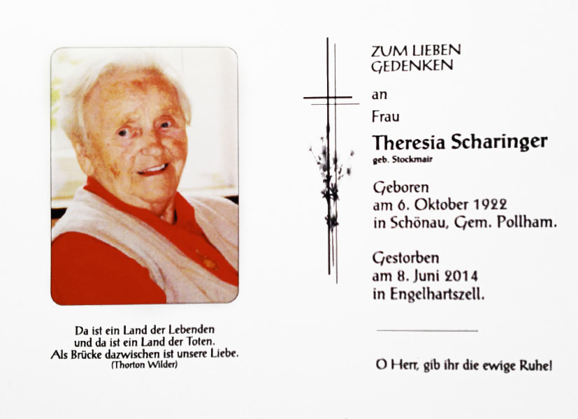Theresia  Scharinger