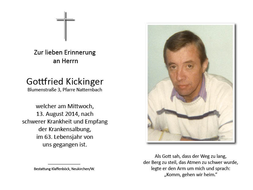 Gottfried  Kickinger