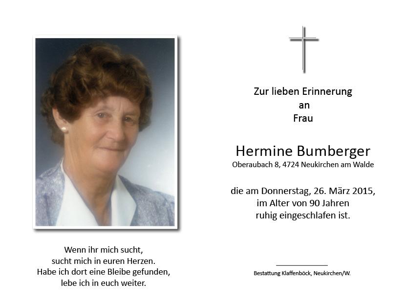 Hermine  Bumberger
