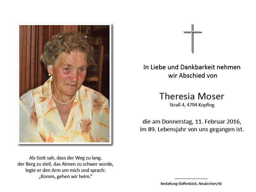 Theresia  Moser