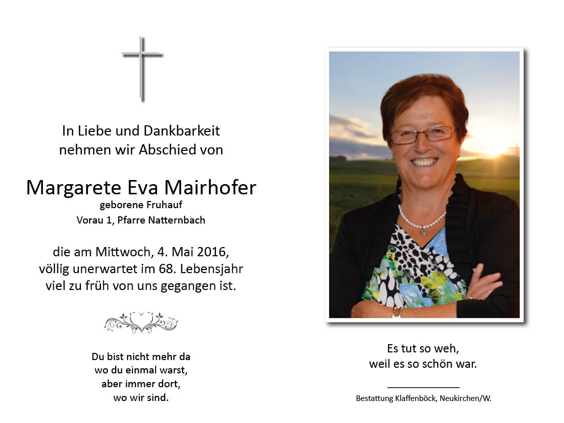 Margarete  Mairhofer