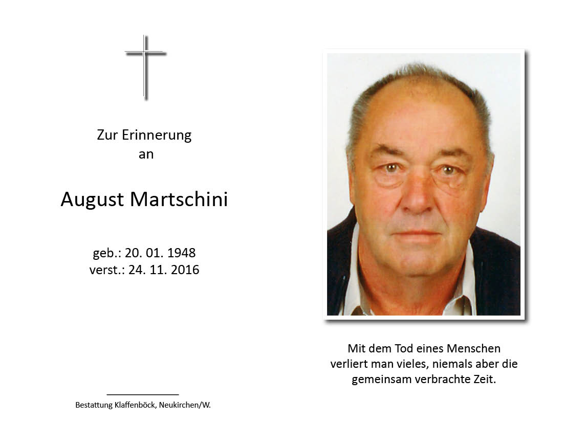 August  Martschini