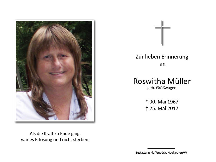 Roswitha  Müller