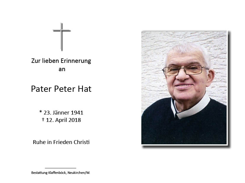 Pater Peter  Hat