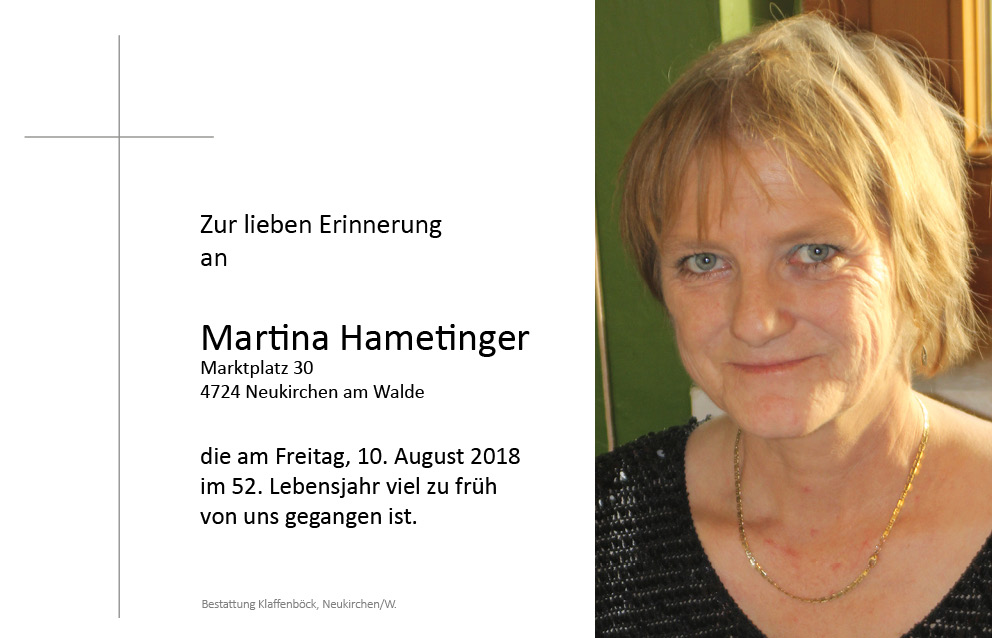 Martina  Hametinger