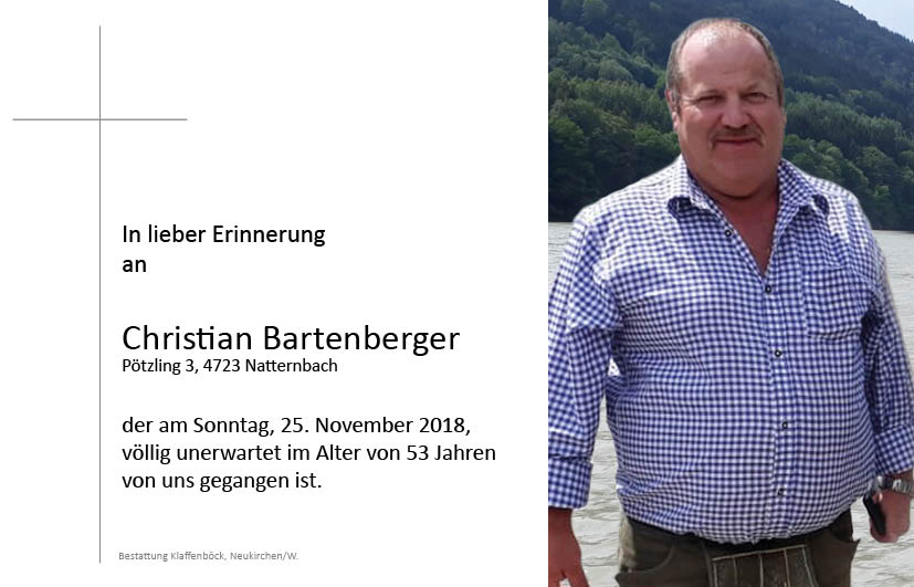 Christian  Bartenberger