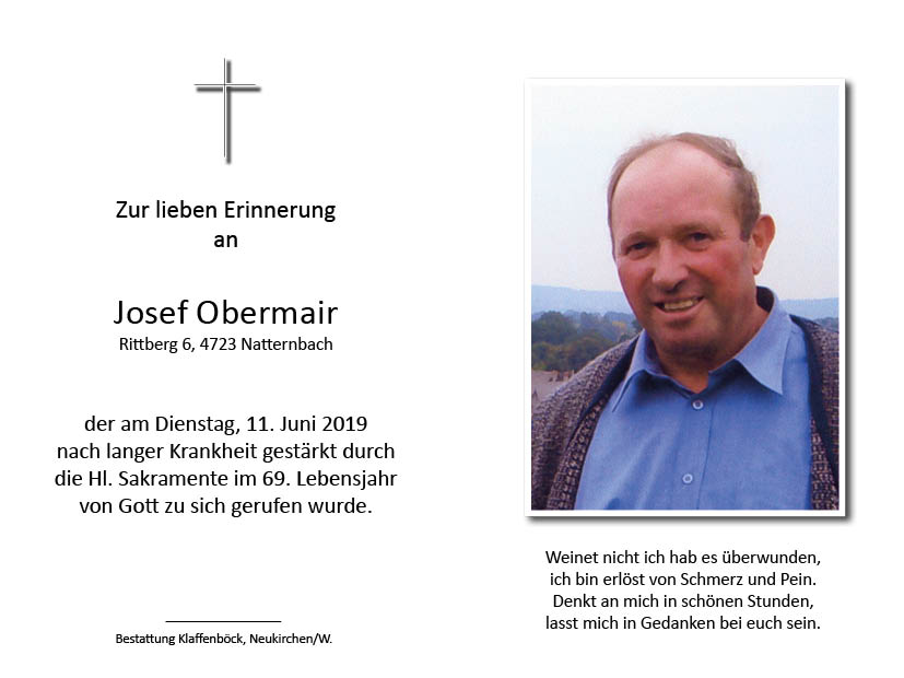 Josef  Obermair