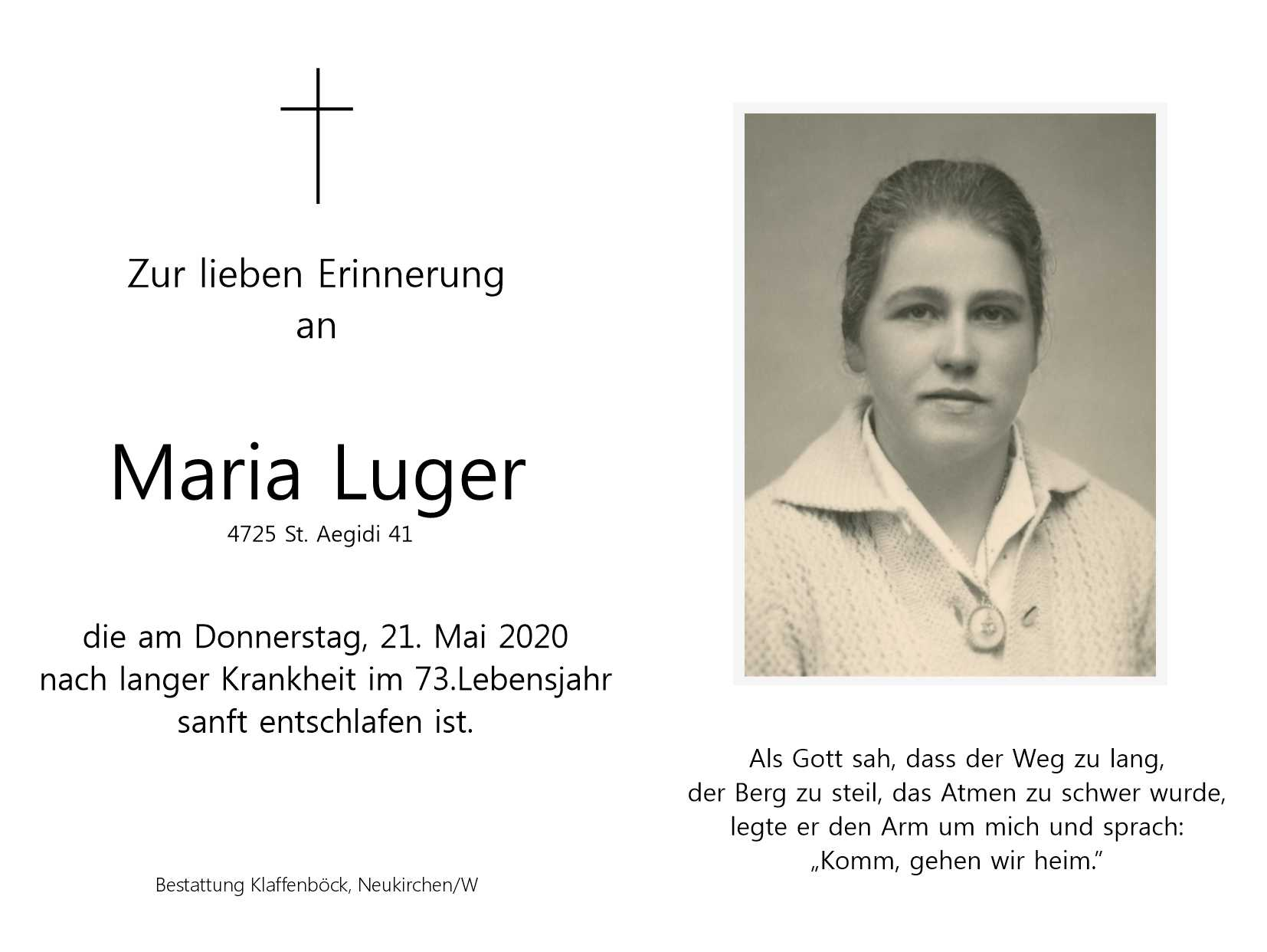 Maria  Luger